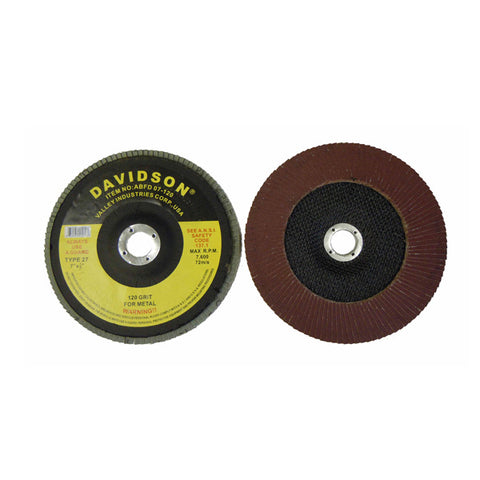 "7"" Flapper Flap  Sanding Wheel Disc 120 Grit - tool"