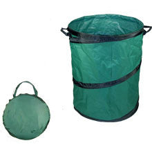 Collapsible Leaf Trash Garbage Garden Storage Container Can Bag Stand Holder - JABETC