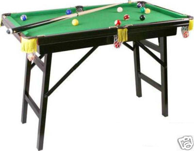 "44"" Minature Foldable Leg Billiard Pool Table - tool"