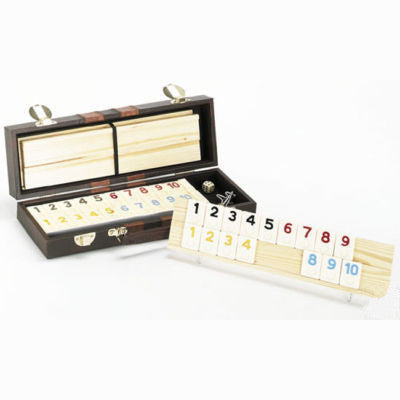 Deluxe Rummy Rummikub Tile Game Set - tool