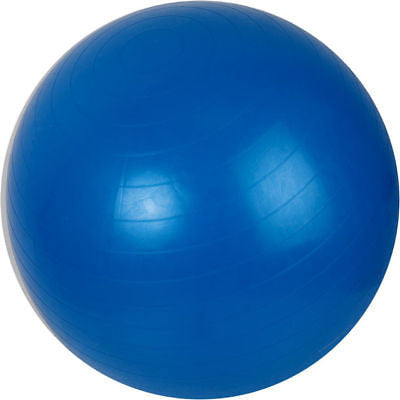 Inflatable Blue Stability Exercise Yoga Workout Exercising Yoga Exercising Ball - JABETC