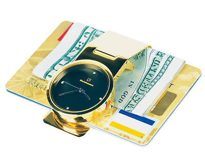 Steinhausen Gold Plated Money Clip - tool