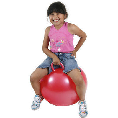 Inflatable Kids Pink Hippity Hop Hopper Hopping Bouncing Bounce Bouncer Ball Toy - tool