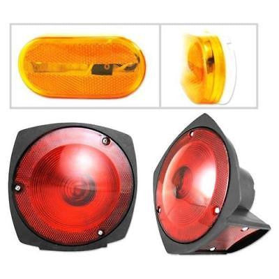 Brake Tail Kit Set Rv Boat Utility Lights for Trailer - JABETC - 1