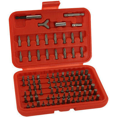 100 Piece Screwdriver Tamperproof Torx Driver Torks Tool Bit Set Kit Tamper Proof - tool