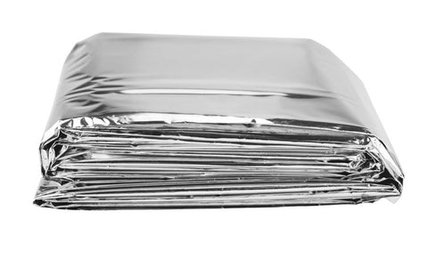 10 Pack of Silver Emergency Blankets - JABETC.COM