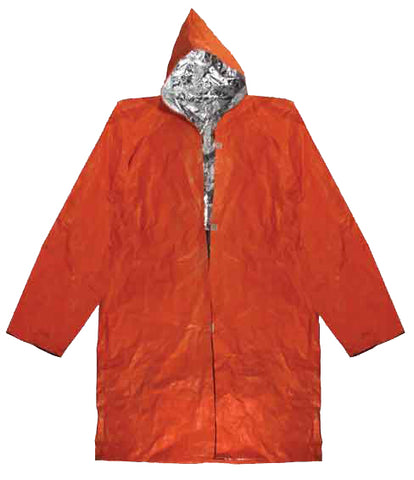 Insulated Pocket Rain Suit Coat Raincoat
