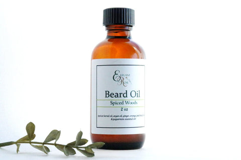 Bottle of Natural Beard Oil - tool