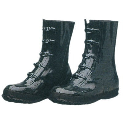 Size 10 Heavy-Duty Rubber Rain Boots Shoes Waterproof - tool