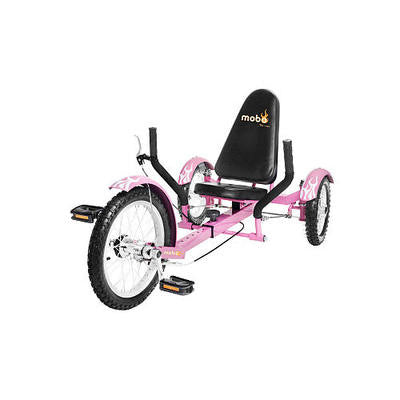 Girls Pink 3 Three Wheeler Wheel Low Rider Riding Bicycle Bike Tricycle Trike - JABETC
