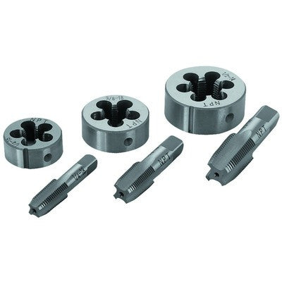 6 Piece Steel Tap & and Die Tool - JABETC