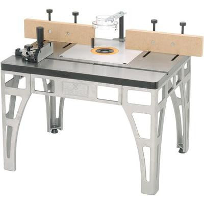 Heavy Duty Cast Iron Steel Metal Router Table Wood Shaper Shaping Tool Stand Jig - JABETC