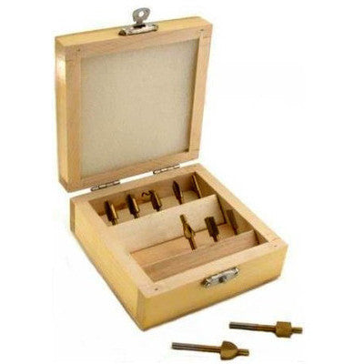 "Mini Router Bit Set Kit 1/8"" Shank for Dremel Wood Tools - tool"