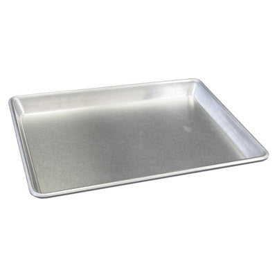 Aluminum Bakers Full Size Sheet Oven Pan for Baking Cookies and More - JABETC