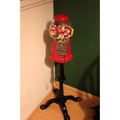 Antique Style Gumball Machine Standing Floor Stand Up - tool