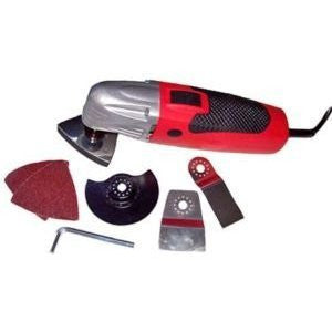 Electric Power Multi Function Vibrating Power Sander Cutter Offset Saw Tool Kit - tool