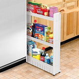 Laundry Washer Side Kitchen Slide Cabinet Pull Out Shelf Storage Rack Sliding Rv - tool