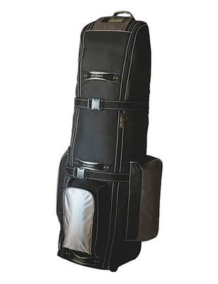 Deluxe Soft Golf Club Rolling Mobile Travel Ship Case for Airline Shipping Bag - JABETC - 1