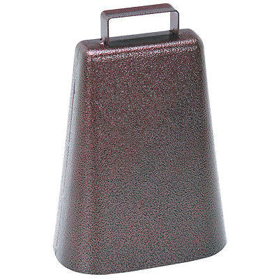 Antique Style Cowbell w/ Hammered Copper Finish - tool