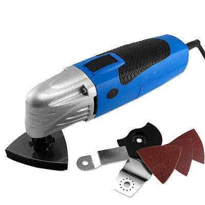 Electric Power Multi Function Vibrating Detail Sanding Cutter Off Set Saw Tool - tool