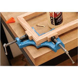Small Cast Iron Wood or Metal Corner Angle Miter Frame Vice Clamp Mitre Jig Vise - tool