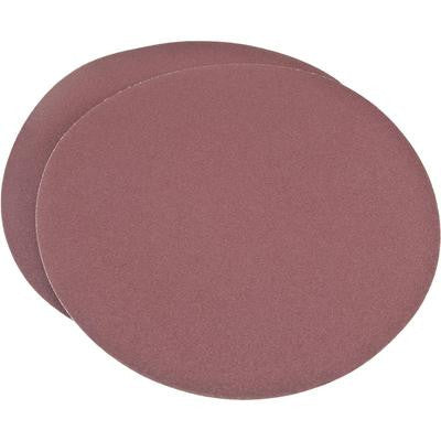 "2 Piece 10"" 80 Grit Round Psa Stick On Abrasive Sanding Sandpaper Disc - tool"