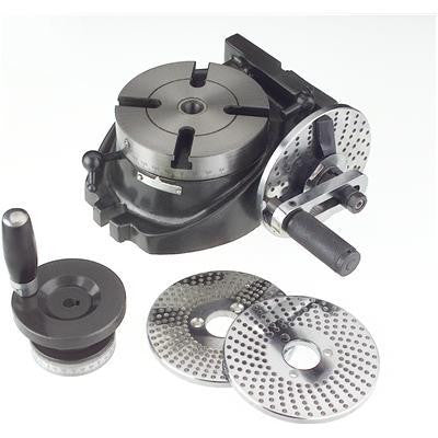 "4"" Precision Machinist Rotary Table with 3 Dividing Plates for Milling Machine - tool"