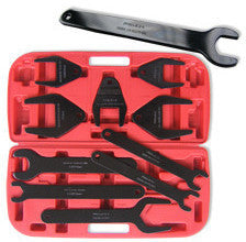 10 Piece Piece Auto Car Engine Fan Clutch Removing Remover Wrench Tool Set Kit - tool