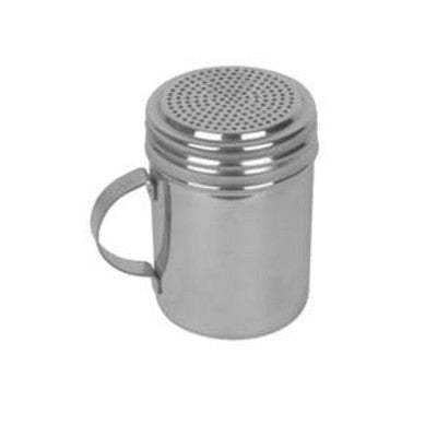 Stainless Steel Shaker Dispenser for Flour Powdered Salt Pepper Sugar Cinnamon - JABETC