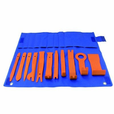 Car Auto Interior Fastener Removal Trim Remover Body Moulding Chisel Tool Set - tool