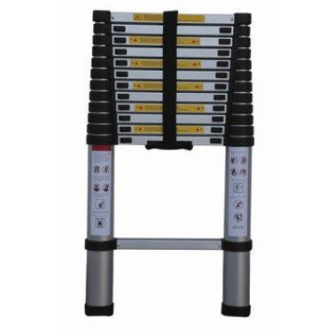 12.5 Foot Telescopic Collapsible Telescoping Extendable Step Ladder for Bus Rv - JABETC - 1