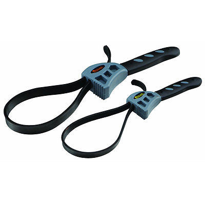 2 Piece Adjustable Rubber Strap Wrench - JABETC - 1