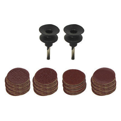 102 Piece High Speed Rotary Sanding Discs - tool