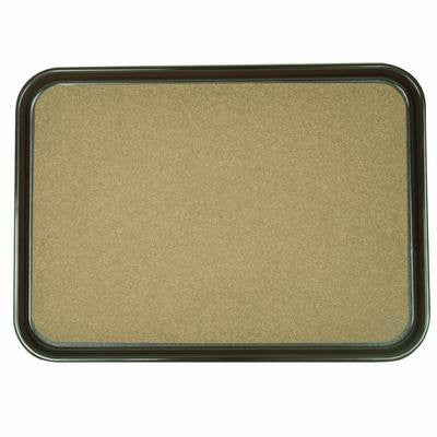 Rectangular Non-Slip Cork Drink Food Cafeteria Server Restaurant Serving Tray - tool
