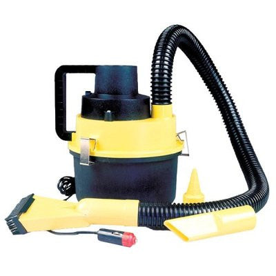 Portable 12V Auto Small Mini Wet and Dry Car Vacuum Cleaner Blower - JABETC