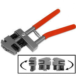 Hand Flange Steel Sheet Metal Punch and Crimping Crimp Punching Tool Puncher - tool