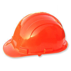 Orange Color Safety Hard Hat Hardhat Plastic Protective Construction Helmet - JABETC