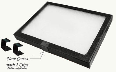 Jewelry Display Box with Glass Lid - tool