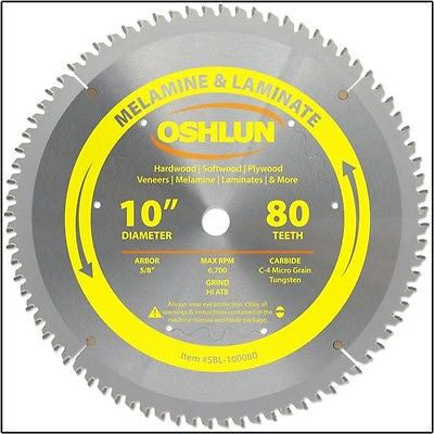 "10"" Carbide Tip Melamine Laminate Saw Blade - JABETC"