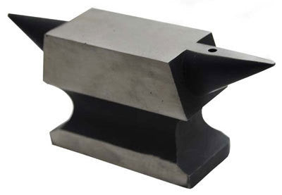 Small Mini Metal Steel Jeweler's Double Horn Anvil Metalsmith Blacksmith Tool - tool
