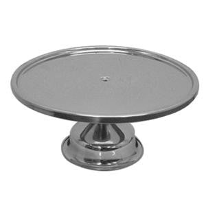 Stainless Steel Polished Metal Bakery Pie Cake Wedding Display Stand Server Base - tool
