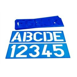 Number and Letter Stencil Set for Signs Address Painting Template Lettering Kit - tool
