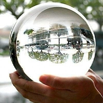 130mm Scrying Magic Psychic Medium Crystal Looking Gazing Ball Wizard - tool