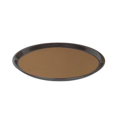 Round Non-Slip Resistant Cork Drink Food Cocktail Server Restaurant Serving Tray - tool
