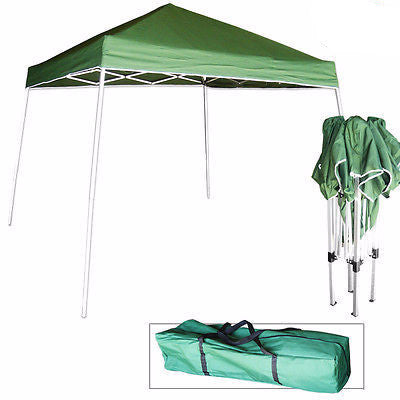10 Foot Portable Folding Foldable Fold Pop Up Sun Shade Canopy Lawn Party Tent - JABETC
