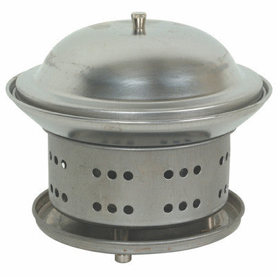 Small Steel Chafer Chafing Wok Warmer Food Heater - JABETC