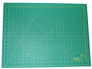 Large Self-Healing Green Soft Artist Hobby Knife Cutting Board Mat Board Pad - tool