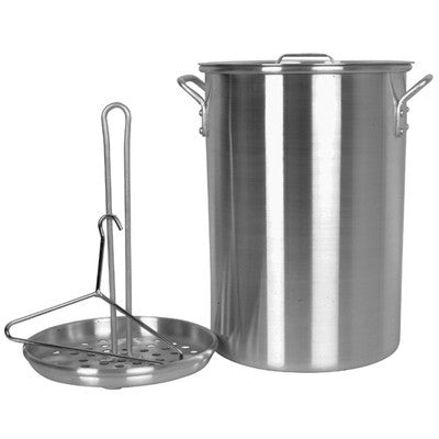 Large Big Aluminum Chicken or Turkey Cooking Cooker Pot Frying Turky Fry Fryer - tool