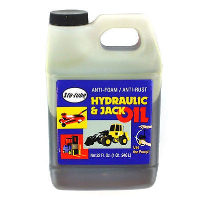 32 Ounce Replacement Hydraulic & Jack Oil - tool