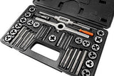 Standard SAE Steel Tap & and Die Set - tool